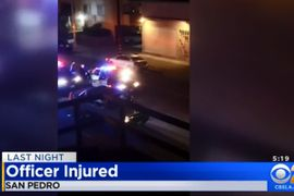 "LAPD Officer ""Pistol Whipped"" by Suspect Inside Division Station"