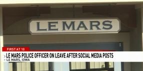 Iowa Officer Placed on Leave Following Social Media Posts