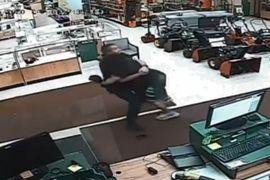Wisconsin Officer Subdues Axe-Wielding Man Causing Disturbance