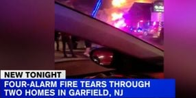 Community Comes to Aid of New Jersey Officer Who Lost Home to Fire
