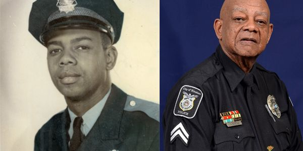 Officer Levi Simmons is known as the longest serving, certified active duty officer in North...