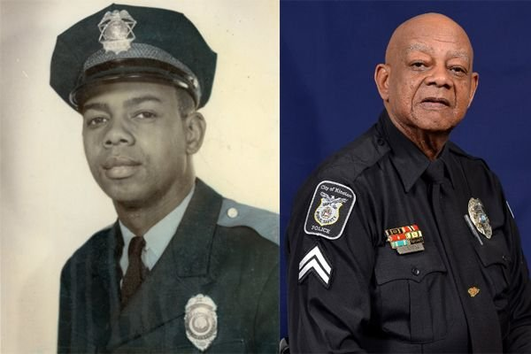 Officer Levi Simmons is known as the longest serving, certified active duty officer in North Carolina. - Image courtesy of the Kinston (NC) Police Department / Facebook.