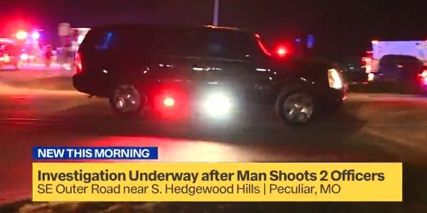 Two officers with the Peculiar (MO) Police Department who were shot and wounded are expected to...