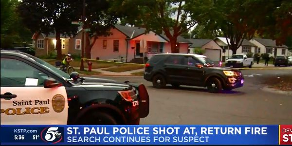 An officer with the St. Paul (MN) Police Department who was shot during an investigation of an...