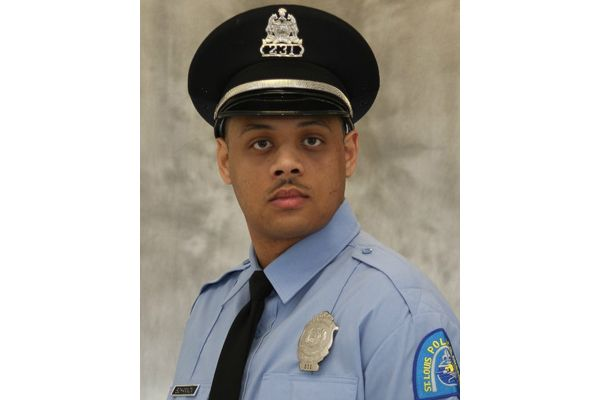 Officer Tamarris Bohannon was shot in the head—and a second officer at the incident was shot in the leg—while responding to a call for service over. - Image courtesy of St. Louis Police Department.