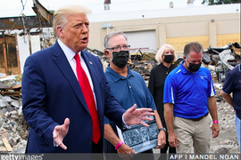 President Trump Delivers Pro-Police Speech in Kenosha