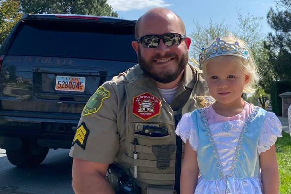 Utah Officer Praised for