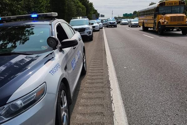 Two civilians in Virginia are receiving praise and thanks from the Virginia State Police Department for coming to the aid of a trooper who came under attack during a recent traffic stop. - Image courtesy of Virginia State Police / Facebook.