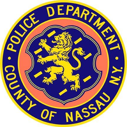 An officer with the Nassau County Police Department who had responded to reports of an injured woman at a local bar was attacked and bitten by a bystander on Saturday night. - Image courtesy of Nassau County PD / Facebook
