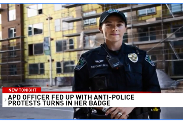 Texas Officer Turning in Her Badge Over Anti-Police Sentiment