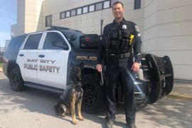Michigan Department Welcomes New K-9 Partner to the Ranks