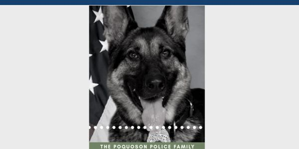 Officers with the Poquoson (VA) Police Department are now mourning the passing of K-9 Rena, who...