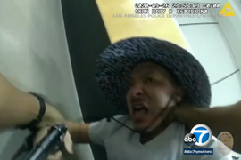 "LAPD Releases Body Camera Video of Gun Grab Attack, ""Pistol-Whipping"" in Station"