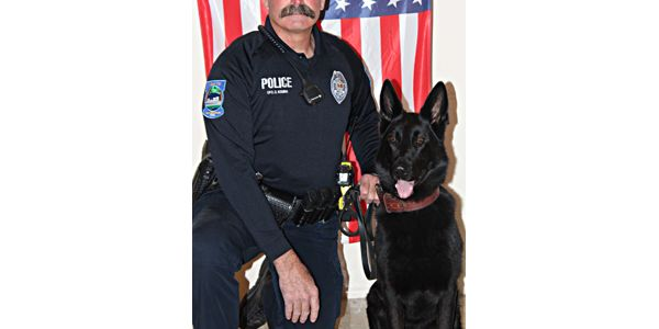 Officer Duane Kemna and K-9 Kilo of the Mason City Police Department responded to a call that a...