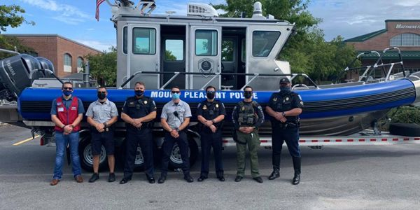 Officers with the Mount Pleasant (SC) Police Department have been training hard for several...