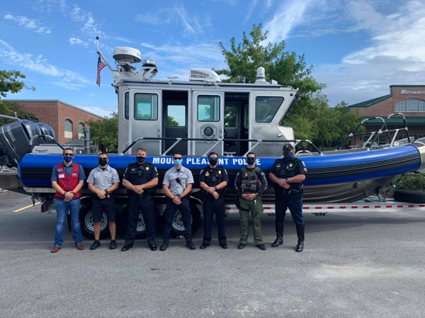 South Carolina Department Eager to Christen New Patrol Boat