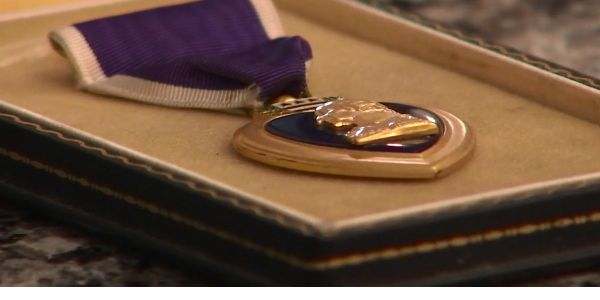 Sergeant Anthony Cerniglia wants to find the rightful owner of a Purple Heart Medal given to a...