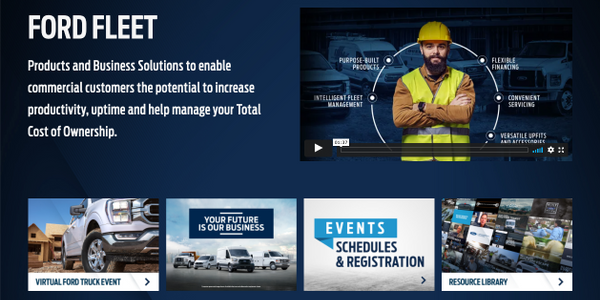 Ford Fleet Live Brings the Latest Truck, Van and Fleet News Directly to Customers