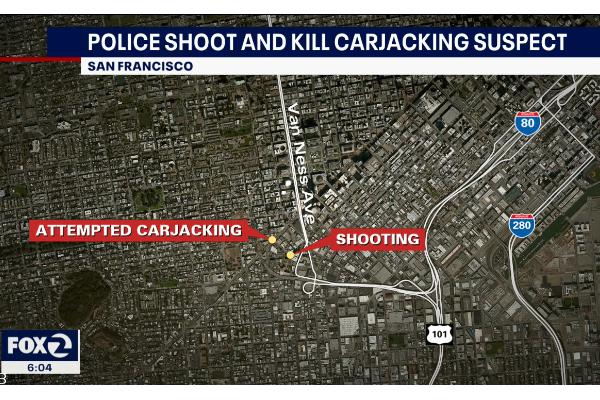 San Francisco Police Fatally Shoot Carjacking Suspect