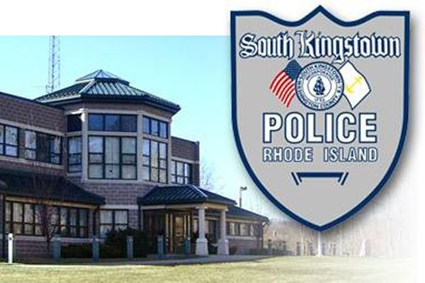 An officer with the South Kingstown (RI) Police Department reportedly shot himself in the leg during a training exercise on Wednesday. - Image courtesy of South Kingstown (RI) Police Department / Facebook.