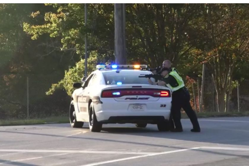 A man suspected to have opened fire on an officer with the East Ridge (TN) Police Department was...