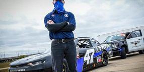 Texas Police Association Sponsors Race Car