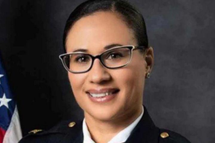 Former Portsmouth, VA, Police Chief Angela Greene (Photo: Portsmouth PD) -