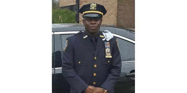 Two NYPD officers were wounded Tuesday in a shootout with campus officer Rondell Goppy...