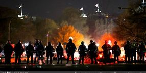 4 Officers Injured in Violent DC Clashes of Pro-Trump and Anti-Trump Groups
