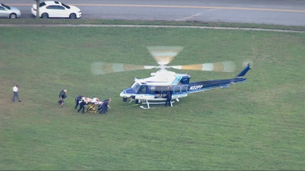Maryland Officer Shot, Airlifted from Scene
