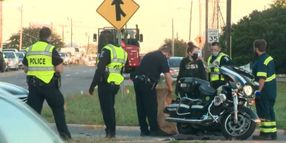 NC Motor Officer Seriously Injured Working First Lady's Motorcade