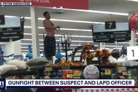 LAPD Officer Wounded in Grocery Store Gunfight