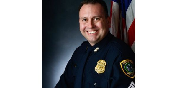 Houston Sgt. Sean Rios was killed in a gunfight Monday. He was on his way to his shift at the...