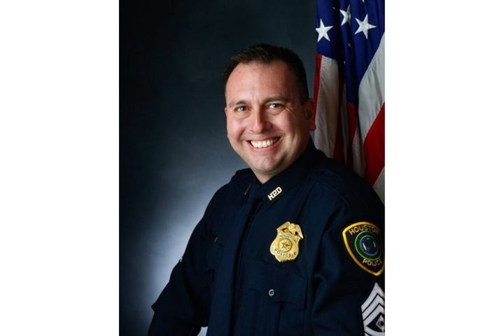 Houston Sgt. Sean Rios was killed in a gunfight Monday. He was on his way to his shift at the time. (Photo: Houston PD) -