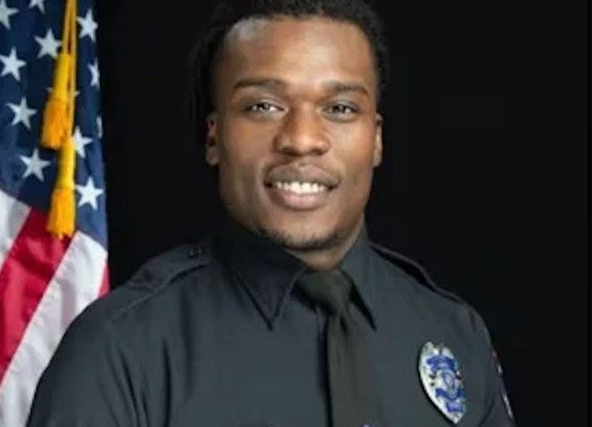 Officer Joseph Mensah resigned from the Wauwatosa Police Department Tuesday. (Photo: Wauwatosa PD) -