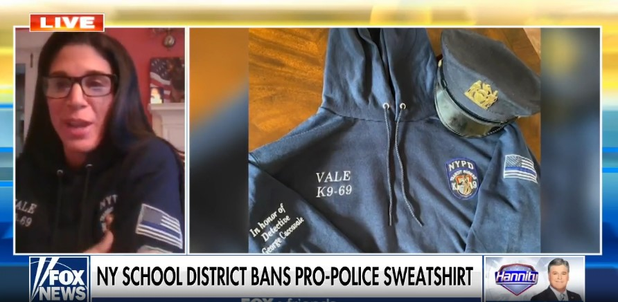 Daughter of Slain Officer Fights School District Over Banning of