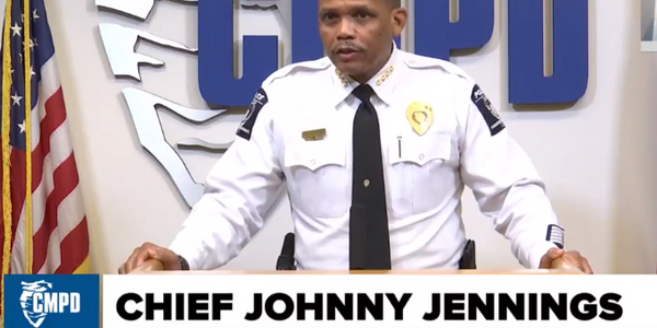 Charlotte-Mecklenburg Police Chief Johnny Jennings has tested positive for COVID-19.