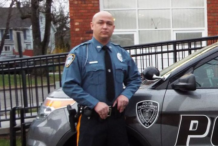 Hamburg, NJ, police officerJason Franco was killed Tuesday in a hunting accident. (Photo: Hamburg PD) -