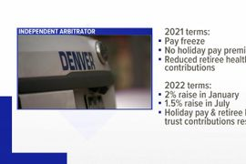 Denver Police to Get Raises in 2022, Pay Frozen Next Year