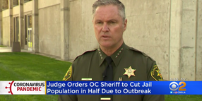 CA Sheriff Defies Judge's Order to Release Violent Inmates Over COVID
