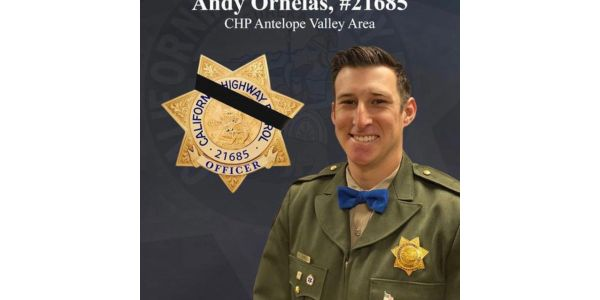 Officer Andy Ornelas of the California Highway Patrol died Wednesday from injuries suffered in a...