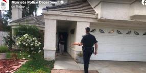 CA Officer Delivers Pizza After Delivery Driver Arrested