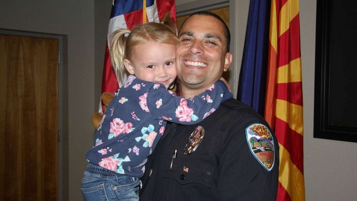 Lt. Brian Zach with his daughter Kaila. (Photo: Brian Zach) -