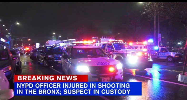 NYPD Officer Shot and Wounded in Bronx