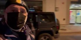 DC Chef Helps Feed Officers Securing Capitol Area After Riot