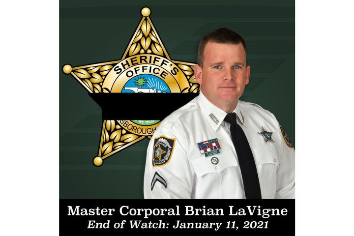 Hillsborough County, FL, Sheriff's sergeantBrian LaVigne was killed one shift before retirement. (Photo: Hillsborough County SO) -