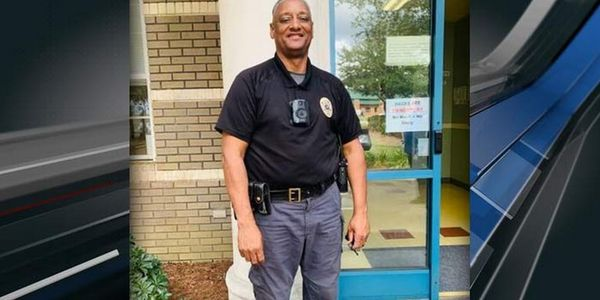 """Officer Melton """"Fox"""" Gore of the Horry County Police Department was struck and killed while..."""