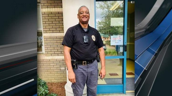 "Officer Melton ""Fox"" Gore of the Horry County Police Department was struck and killed while removing debris from a highway Tuesday. (Photo: Horry County PD) -"