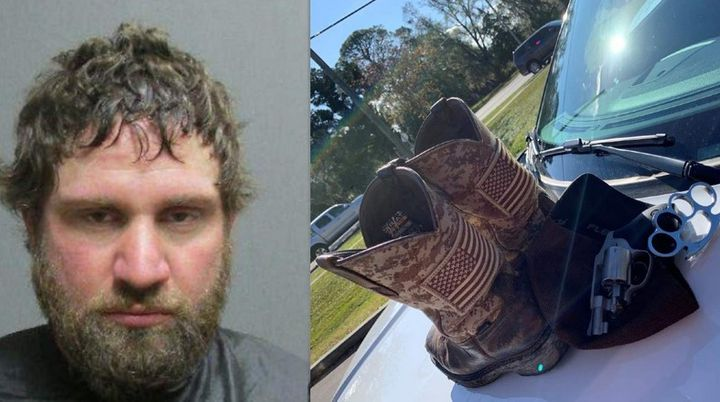 Flagler County Sheriff's deputies say Ettienne Joseph Mixon Jr. had a gun and law enforcement equipment in his possession during a recent traffic stop. (Photo: Flagler County Sheriff's Office) -