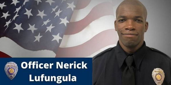 Charlotte-Mecklenburg Police Officer Nerick Lufungula died Thursday after what appears to be a...